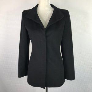 Adolfo Dominguez Blazer Jacket Black 38 Small